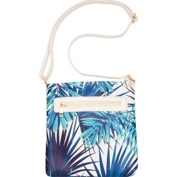 Millers Palms Cross Body - Turquoise - One Size found on Bargain Bro India from Rockmans for $14.36
