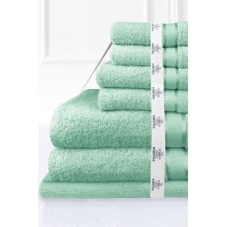 Kingtex 7 Piece Bath Towel Set - Frost - One Size found on Bargain Bro from Noni B Limited for USD $64.58
