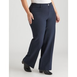 Beme Perfect Pant Straight Regular Length - Navy - 18 found on Bargain Bro India from W Lane for $21.09