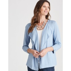 W.lane Waterfall Cardigan - Powder Marl - XS found on Bargain Bro from Noni B Limited for USD $14.73