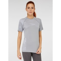 Jerf Womens Castro Seamless T-shirt - Grey - L found on Bargain Bro from Noni B Limited for USD $29.94