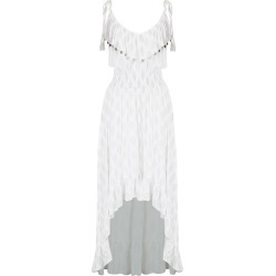 Crossroads Strappy Gold Foil Maxi Dress - White - 10 found on Bargain Bro Philippines from W Lane for $25.10