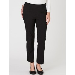 Millers Short Length Bengaline Pant - Black - 14 found on Bargain Bro India from Rockmans for $5.68