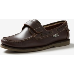 Rivers Leather Velcro Boat Shoe - Brown - 7 found on Bargain Bro from Rivers for USD $29.38