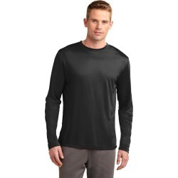 Sport-tek Long Sleeve Posicharge Competitor Tee - Black - L found on Bargain Bro Philippines from Noni B Limited for $21.21