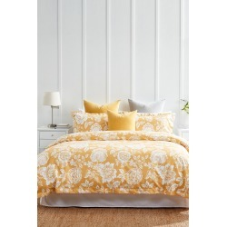 Centifolia Duvet Cover Set - Maize - Cal King found on Bargain Bro India from Rockmans for $71.69