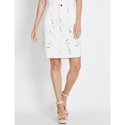 Rockmans Printed Denim Skirt - Tie Dye - 8 found on Bargain Bro India from W Lane for $11.66