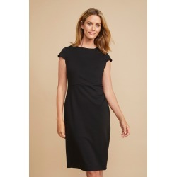 Capture Ponte Ruche Side Dress - Black - 18 found on Bargain Bro from Noni B Limited for USD $29.37