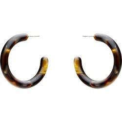 Aria Resin Large Earring - Black - One Size found on Bargain Bro India from Katies for $7.62