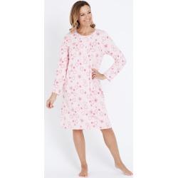 Millers Long Sleeve Classic Nightie - Pink Hearts - 12/14