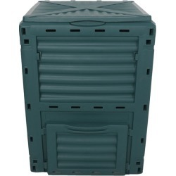 Plantcraft 290l Aerated Compost Bin Food Waste Garden Recycling Composter - Green - One
