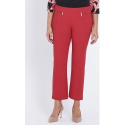 Ankle Bengaline Twill Zip Pocket Pant - Oriental Red - 22 found on Bargain Bro India from Rockmans for $10.26