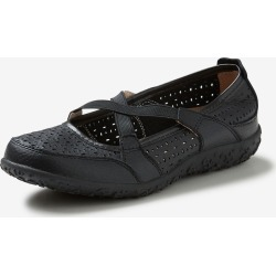 Rivers Leathersoft Lasercut Ballet Flat - Black - 37 found on Bargain Bro Philippines from Rockmans for $21.26