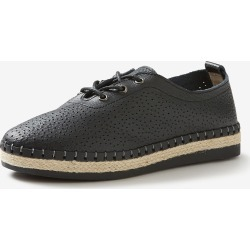 Rivers Leathersoft Perforated Lace Up - Black - 40 found on Bargain Bro Philippines from crossroads for $23.57