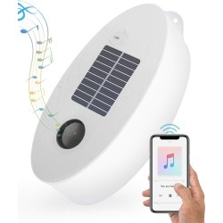 Bluetooth Speaker Led Light Solar Usb Power Inflatable Soundpaq Camping Ip66 - Clear found on Bargain Bro Philippines from crossroads for $57.21