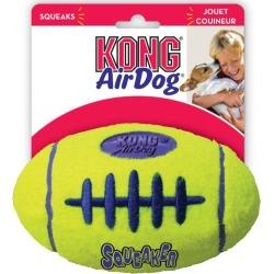 Kong Dog Toy Airdog Squeaker Football Interactive Toy Medium - Multi