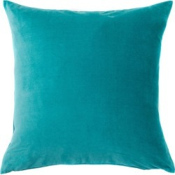 Windsor Velvet European Pillowcase Pair - Peacock - One Size found on Bargain Bro from Noni B Limited for USD $17.02