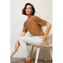 Grace Hill Gather Sleeve Top - Bronze - 12 found on Bargain Bro Philippines from W Lane for $46.59