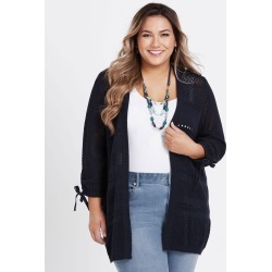 3/4 Cardigan - Navy - XS found on Bargain Bro from BE ME for USD $14.20