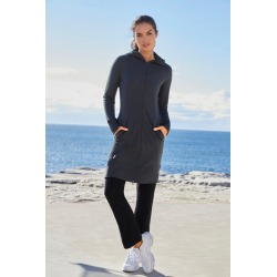 Isobar Merino Longline Cardi - Charcoal - M found on Bargain Bro Philippines from crossroads for $36.80
