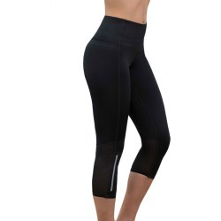 Lasculpte Women's Antimicrobial Hw Capri Yoga Tights - Black - 18 found on Bargain Bro from Noni B Limited for USD $35.22