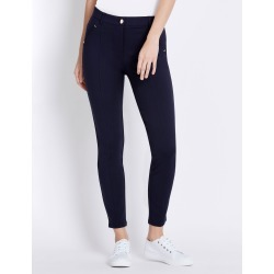 Rockmans Full Length Seam Detail Ponte Pant - Midnight - 10 found on Bargain Bro India from W Lane for $15.55