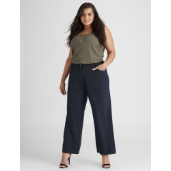 Beme Regular Length Perfect Pant - Navy - 14 found on Bargain Bro India from crossroads for $37.02