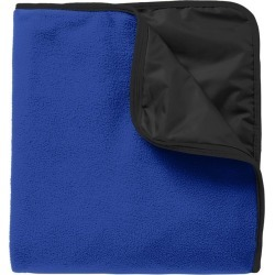 Port Authority Fleece & Poly Travel Blanket - True Royal/ Black - True Royal/ Black - one found on Bargain Bro India from Rockmans for $29.90