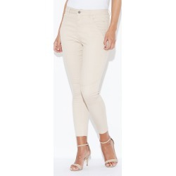 Crossroads High Riribbed Zip Pant - Stone - 20 found on Bargain Bro from Noni B Limited for USD $14.80