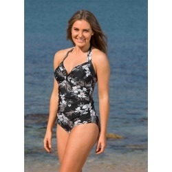 Lasculpte Women's Tummy Control Halter Strap One Piece - Tropical Floral Print - 12 found on Bargain Bro Philippines from Rivers for $44.25