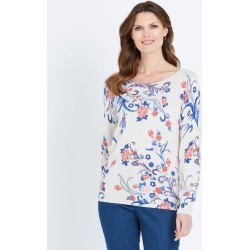 W.lane Floral Placement Pullover - Multi - M found on Bargain Bro India from Noni B Limited for $28.97
