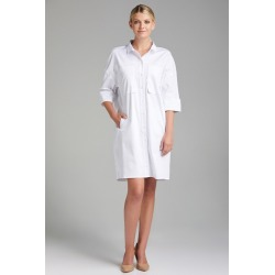 Grace Hill Pocket Detail Shirt Dress - White - 8 found on Bargain Bro India from Rockmans for $38.12