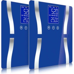 Soga Digital Body Fat Weight Scale Lcd Electronic 2pack - Blue - ONE found on Bargain Bro from Noni B Limited for USD $32.17