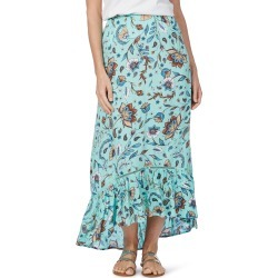 Rockmans Mint Floral Maxi Skirt - Multi - 24 found on Bargain Bro India from Noni B Limited for $14.08