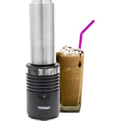 Todo 300w Smoothie Maker Drink Blender 600ml Double Wall Stainless Steel Jar - Black - One found on Bargain Bro from Noni B Limited for USD $29.88
