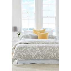 Baroque Duvet Cover Set - Ash - Single found on Bargain Bro India from Rockmans for $71.69