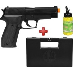 Pistola Airsoft Spring KWC P226 + Case Maleta + BBs BB King 0.12g - Unissex found on Bargain Bro India from netshoes for $148.96