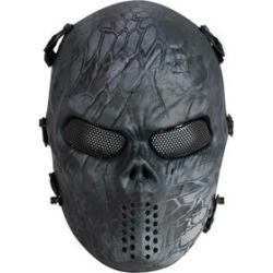Máscara de Proteção Airsoft QGK Caveira Full Face Black Python - Unissex found on Bargain Bro India from netshoes for $139.65