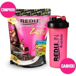 Redulin Zero - Whey Protein + Weight Loss 454G - Unissex