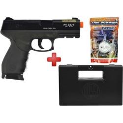 Pistola Airsoft Taurus Spring Black 24/7 + Case Maleta + BBs Nautika 0.12g - Unissex found on Bargain Bro India from netshoes for $194.97