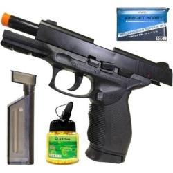 Kit Pistola Airsoft 24/7 KwC KA-06HNA c/ Trava de Segurança + 1000 Munições - Unissex found on Bargain Bro Philippines from netshoes for $189.14