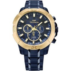 Relógio Masculino Technos Legacy JS26AF/4A 52mm Pulseira Aço Azul - Masculino found on Bargain Bro India from netshoes for $382.16