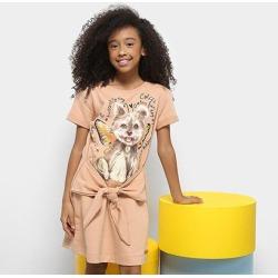 Vestido Infantil Colcci Curto Moletom Estampado - Feminino found on Bargain Bro Philippines from netshoes for $39.20