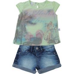 Conjunto Infantil Malha Flamê Sublimada e Índigo - Feminino found on Bargain Bro Philippines from netshoes for $35.53