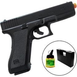 Pistola Airsoft Spring K17 KwC com 1000 Munições BBs e Maleta Case Rossi - Unissex found on Bargain Bro Philippines from netshoes for $110.29