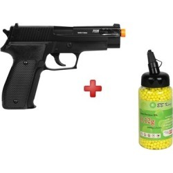 Pistola Airsoft Spring Sig Sauer P226 Slide Metal + BBs BB King 0.12g - Unissex found on Bargain Bro India from netshoes for $146.96
