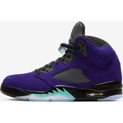 Air Jordan 5 'Purple Grape' Release Date found on Bargain Bro from  for $190