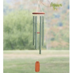 Weather-Resistant Aluminum & Bamboo Amazing Grace Tone Wind Chime found on Bargain Bro India from Plow & Hearth for $64.95