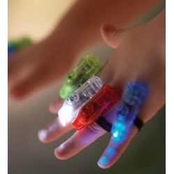 Super Finger Flashlights, set of 8 found on Bargain Bro Philippines from HearthSong for $14.98
