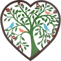 Heart Tree Wall Art found on Bargain Bro India from Plow & Hearth for $49.95